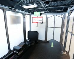 private work out cubes in Kubex gym