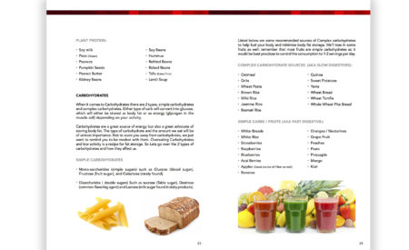 nutrition guidebook