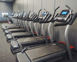 Cardio room at KUBEX fitness