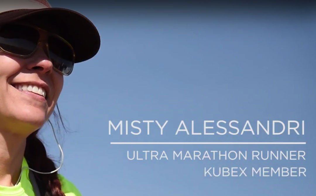 Misty Alessandro Marathon runner with Kubex Fitness