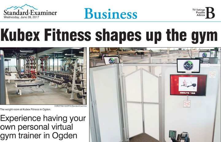 Experience having your own personal virtual gym trainer in Ogden