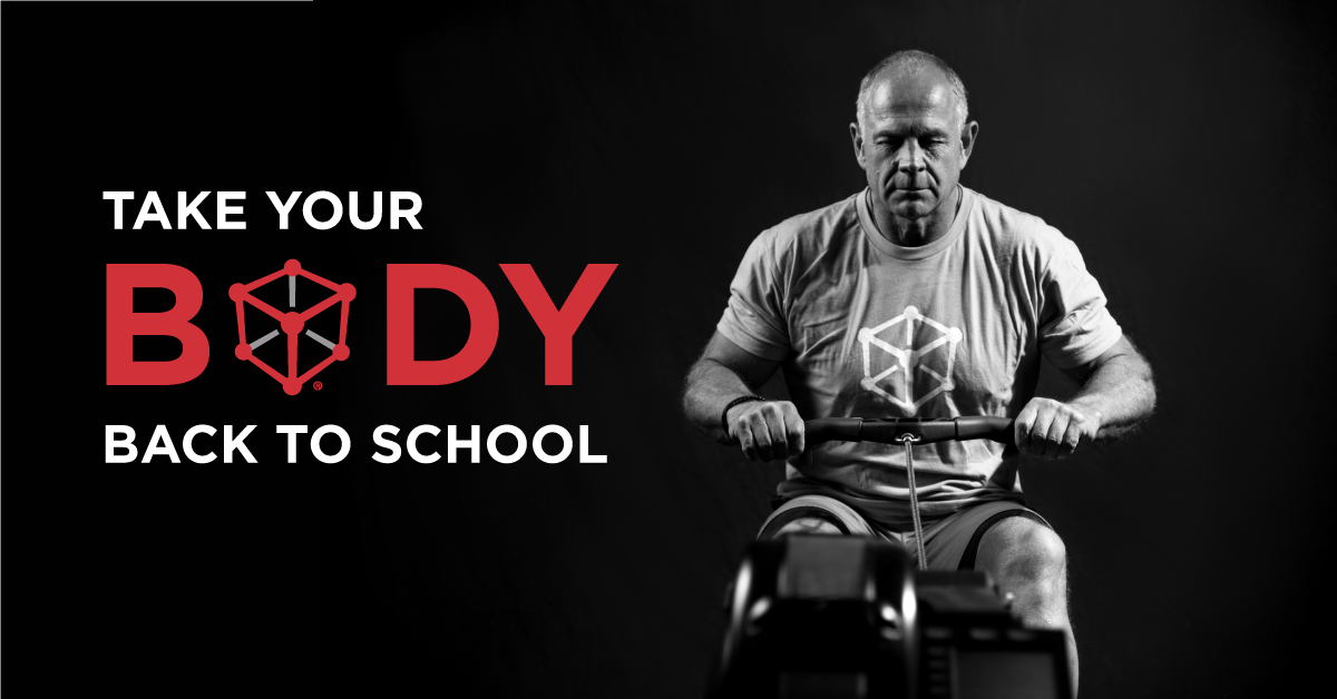 take your body back to school graphic