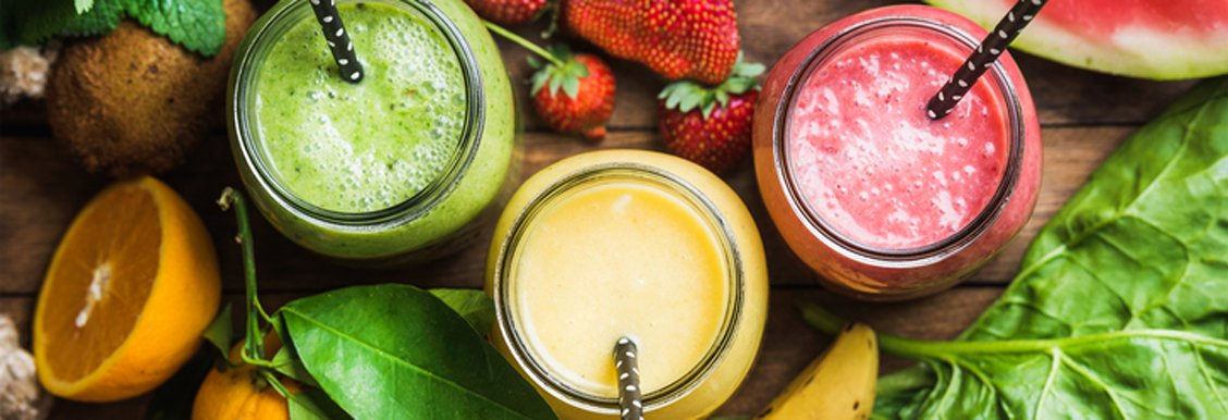 Healthy snack iceas- fruit smoothie