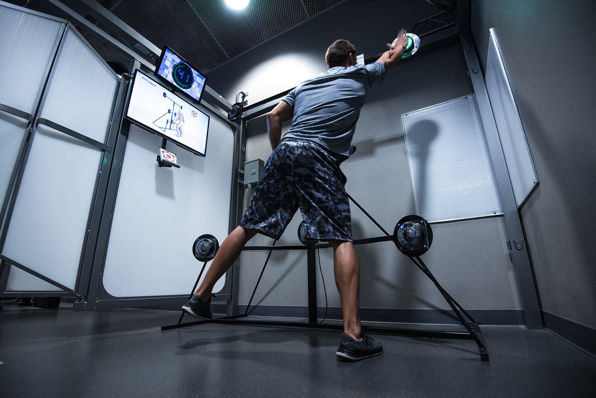 Kubex Fitness Kube With Light React Coordination Exercise.