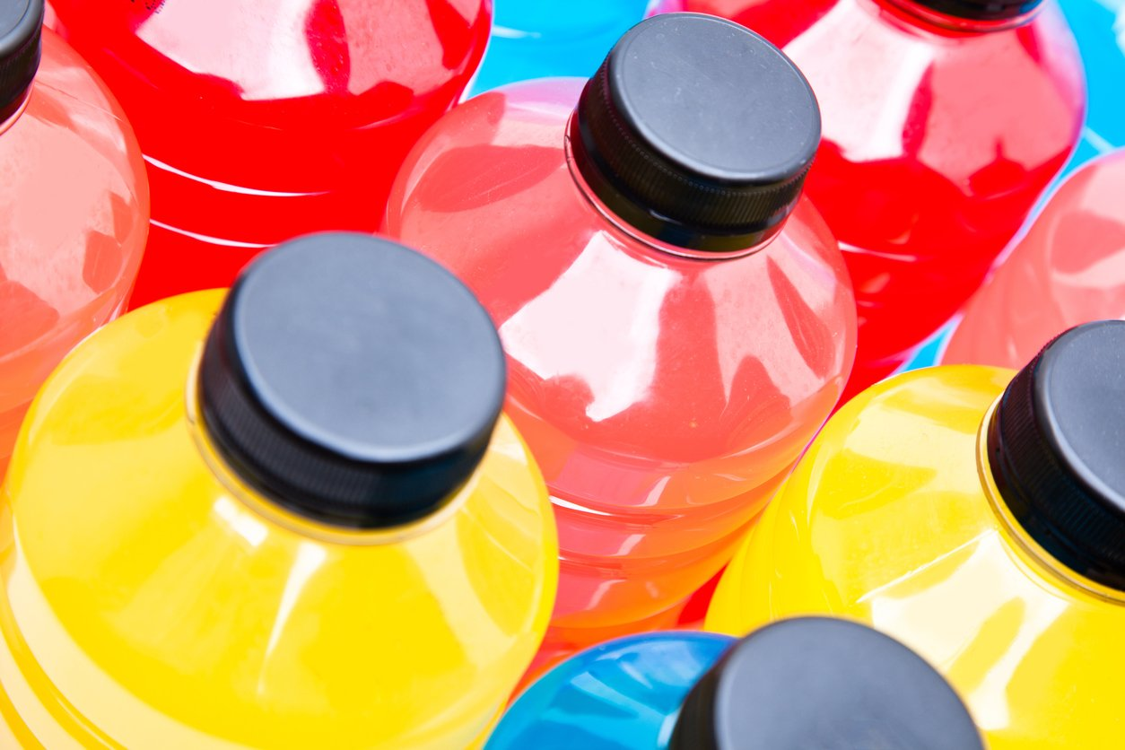 sport drinks that many people think are healthy but aren't